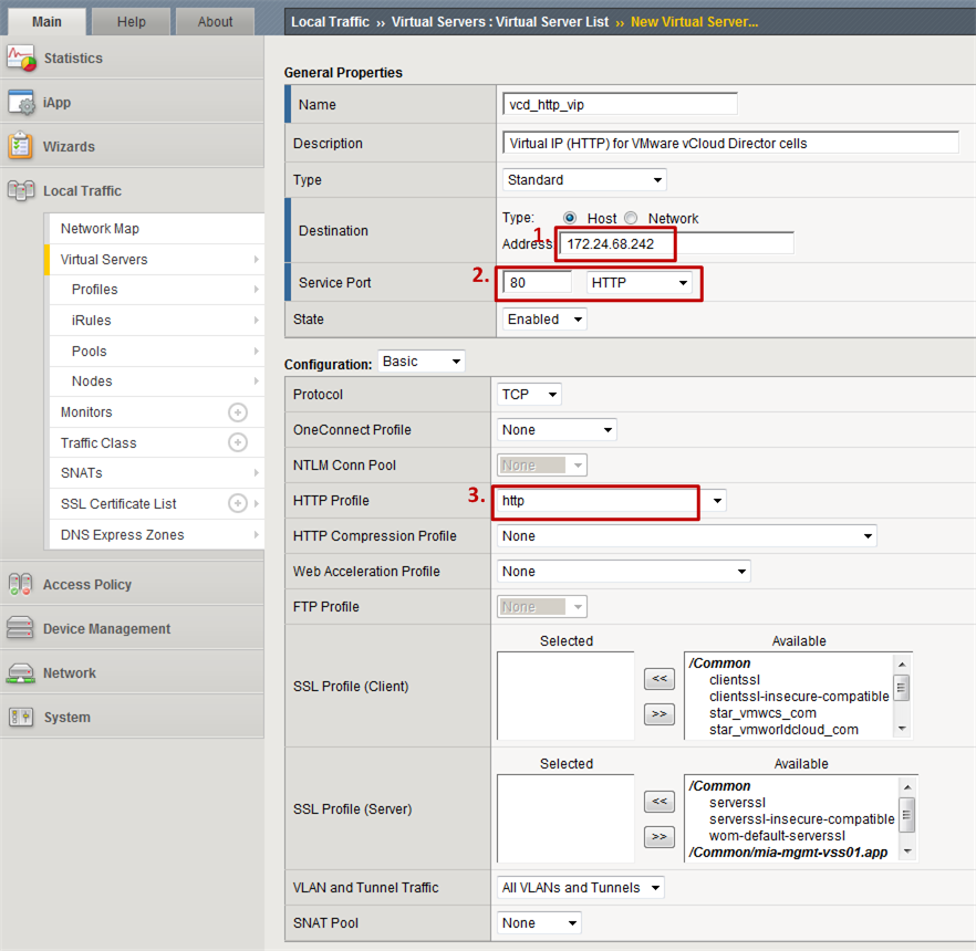 Configuring F5 Big-IP LTM with VMware vCloud Director [Updated